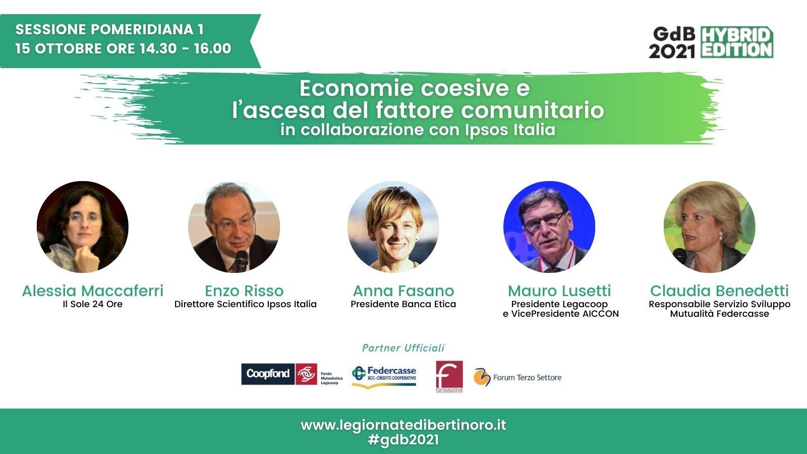 Economie Coesive E L'ascesa Del Fattore Comunitario